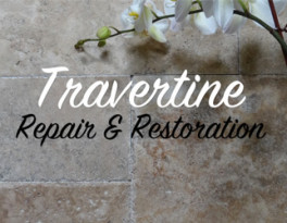 Travertine Repair and Restoration