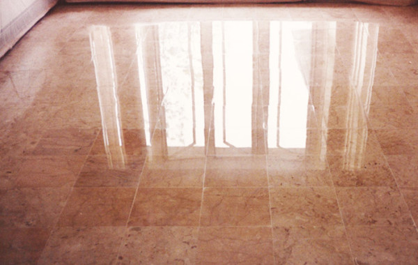 Marble Floor Honed and Polished