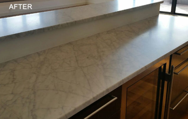 Marble Countertop Restored
