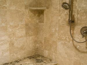 Travertine Shower Cleaning Repair