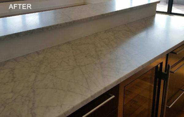 Marble Countertop Restored